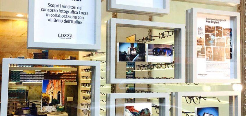 """Lozza: due ottici ospitano la mostra """"il bello dell'italia"""""""
